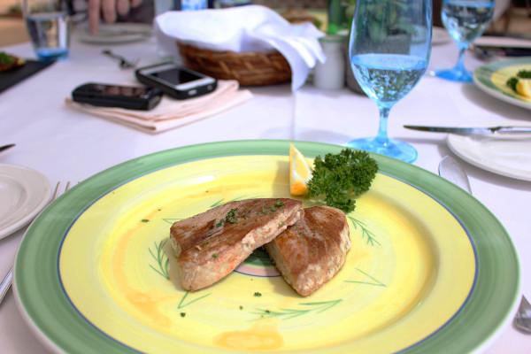 Tuna Lunch at Cliff Bay Madeira