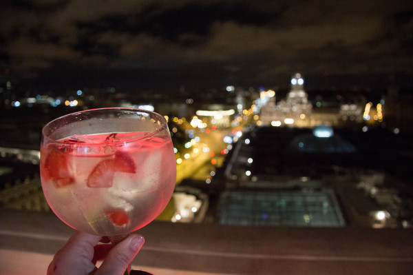 madrid gin&tonic tartan roof