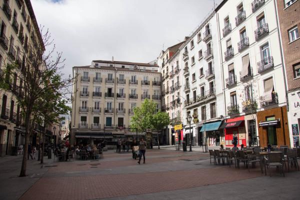madrid plaza de chueca