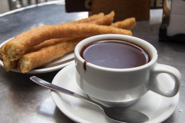 madrid chocolate con churros