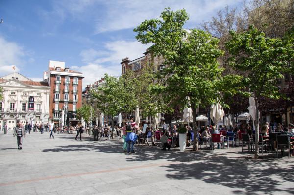 madrid plaza de santa ana