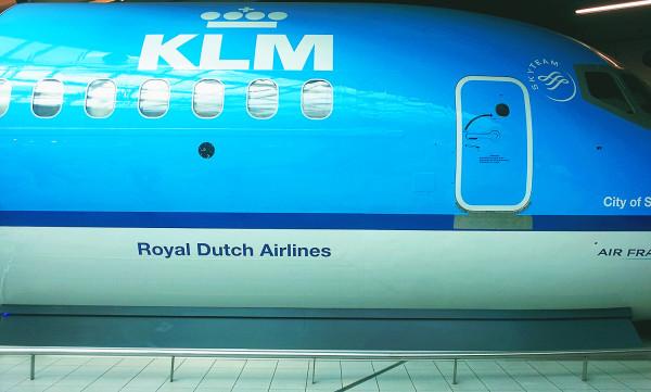 KLM at Schiphol