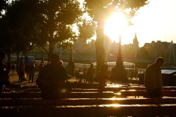 London_southbank_sunset