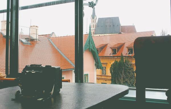 View of Cesky Krumlov Fotoatelier Seidel