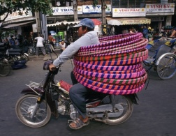 The Vietnamese bikes of burden