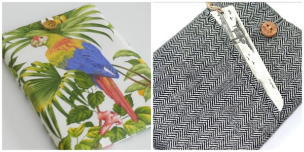 travelettes parrot laptop case