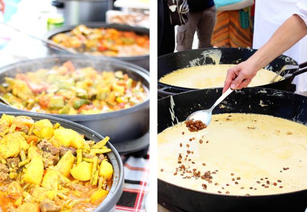 Open Kitchen Food Market in Ljubljana