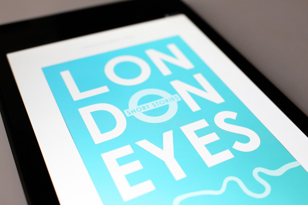 London Eyes Cover - Frances M Thompson