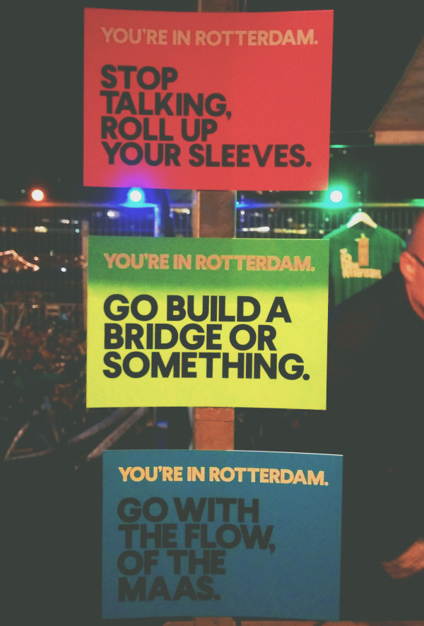 Rotterdam Postcards - Frances M Thompson