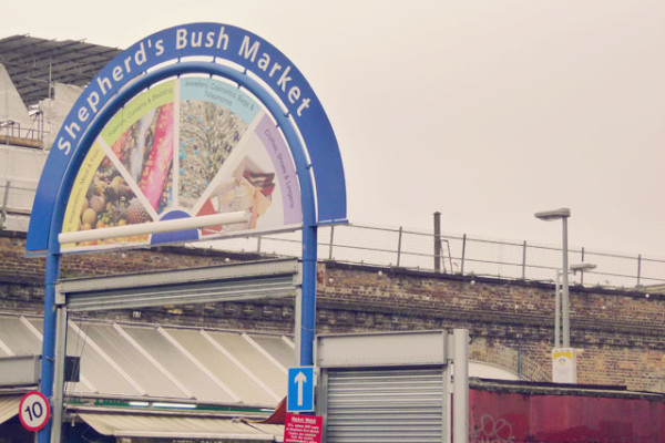 Shepherd's Bush Market Sign - Frances M Thompson
