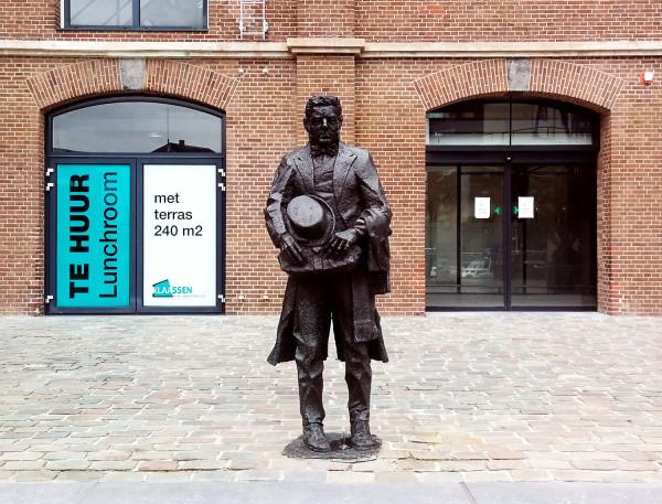 Statue of Lodewijk Pincoffs - Hotel Pincoffs Rotterdam - Frances M Thompson