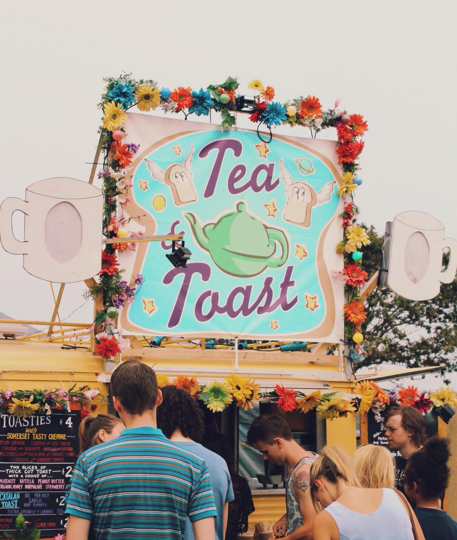 tea toast