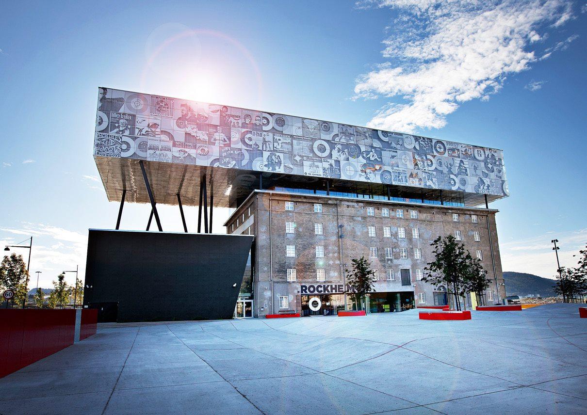 Trondheim - Rockheim Museum