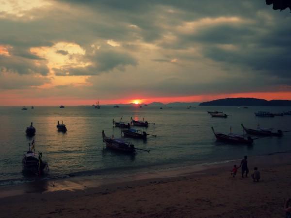 ao nang sunset