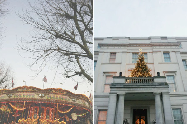 christmas in london - by Frances M Thompson