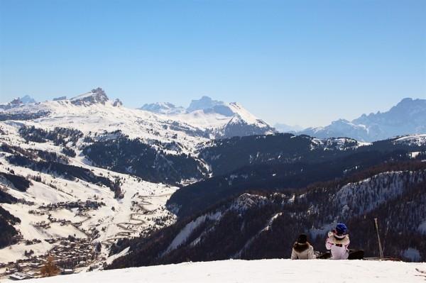 skiing in alta badia_Frances M Thompson