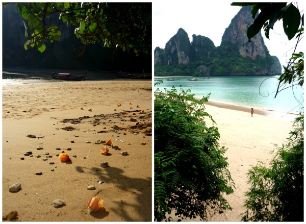 ton sai and railay edit Collage