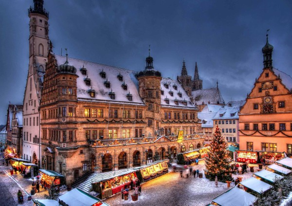 Awesome Christmas Markets in Europe - Reiterlesmarkt, Rothenburg ob der Tauber, Germany