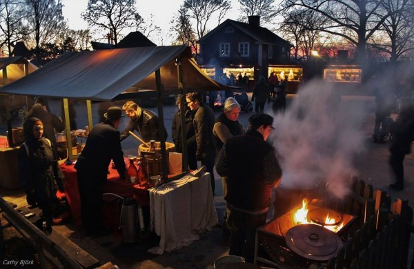 Awesome Christmas Markets in Europe - Skansen, Stockholm, Sweden