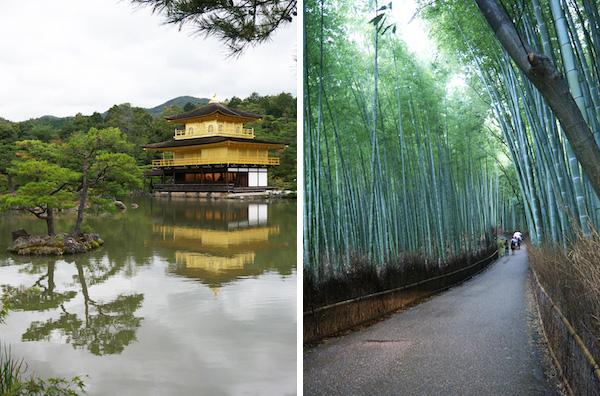 travelettes marie colinet japan kyoto golden pavilion bamboo arashiyama