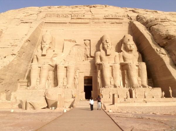 Along the Nile in Egypt - Lilian Lee - Abu Simbel 2