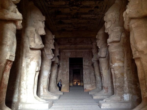 Along the Nile in Egypt - Lilian Lee - Abu Simbel inside