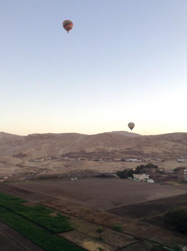 Along the Nile in Egypt - Lilian Lee - Hot air balloon