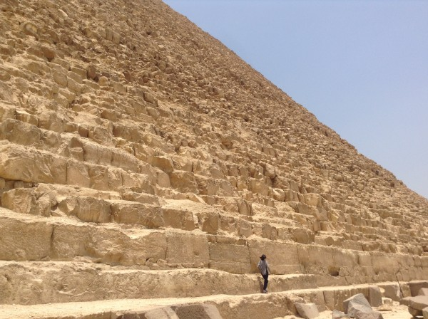 Along the Nile in Egypt - Lilian Lee - Pyramid