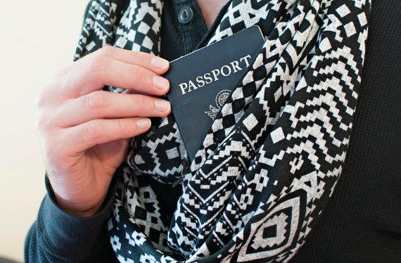 ETSY Wish List - Passport Scarf