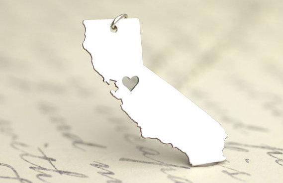 ETSY Wish List - US States jewelry