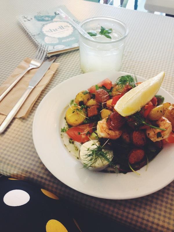 A Weekend in Sligo, Ireland - Elizabeth Rushe: Shells Cafe - Lunch