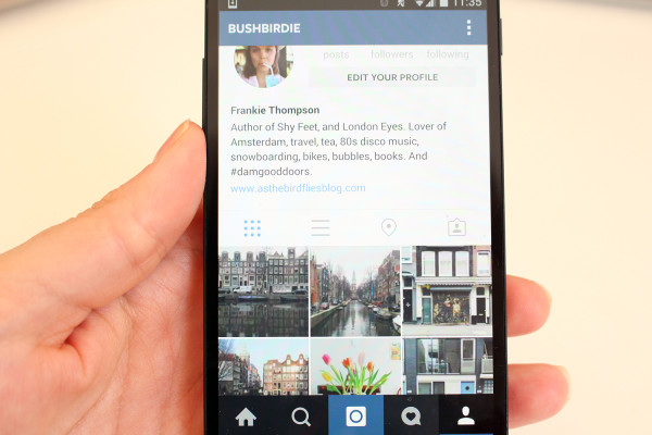 Instagram - Best travel apps for Androids - Frances M. Thompson