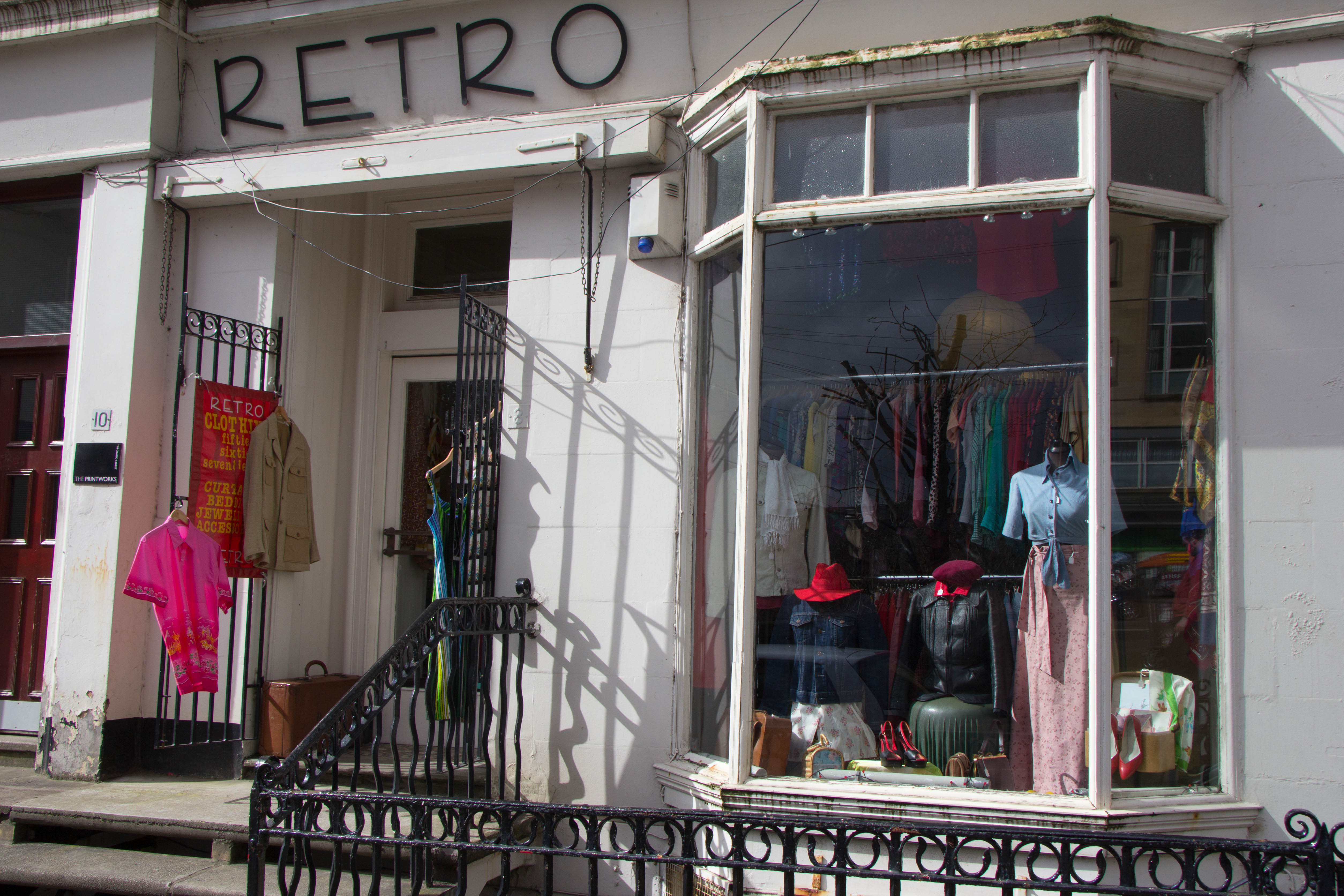 5 cool vintage shops in Glasgow - Retro