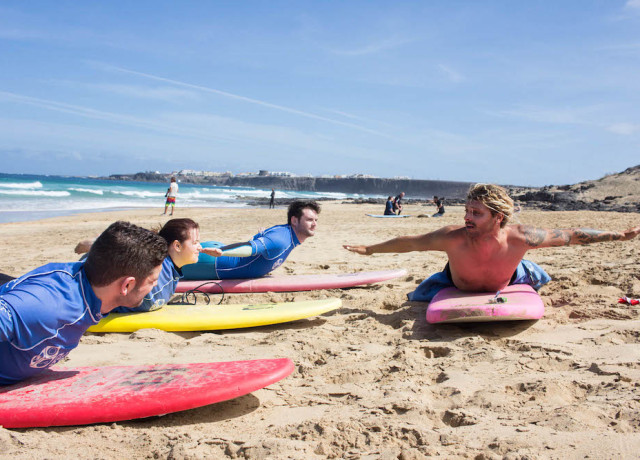 Learn to surf with Planet Surf Camp, Fuerteventura