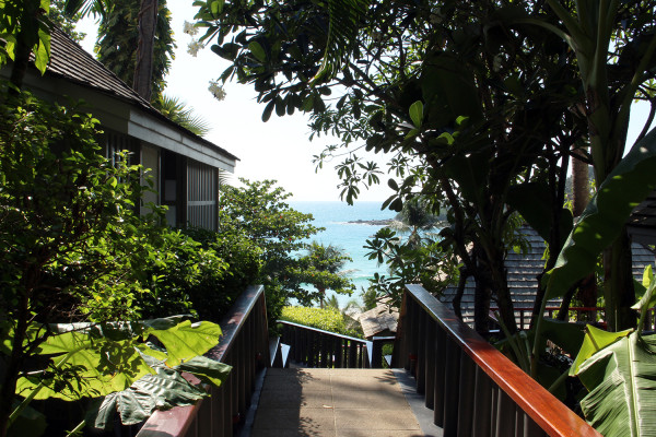 Hillside Villa View - Travelettes Review of The Surin, Phuket by Frances M Thompson
