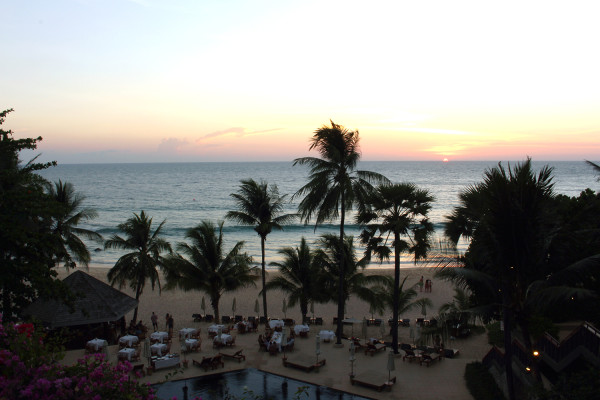 The Surin at Sunset - Travelettes Review of The Surin, Phuket by Frances M Thompson