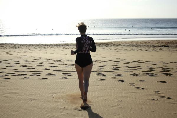 kathi swimsuit run