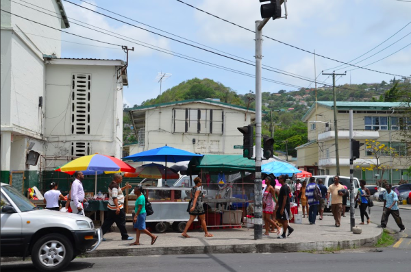 Beginners Guide to Saint Lucia - Lia Pack - Travelettes - castries market