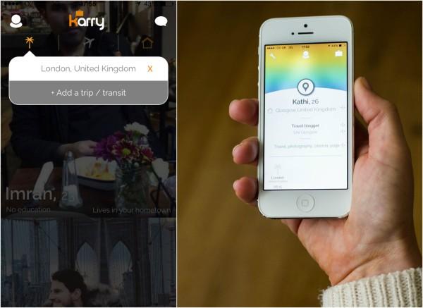 Karry social travel app review kathi kamleitner travelettes