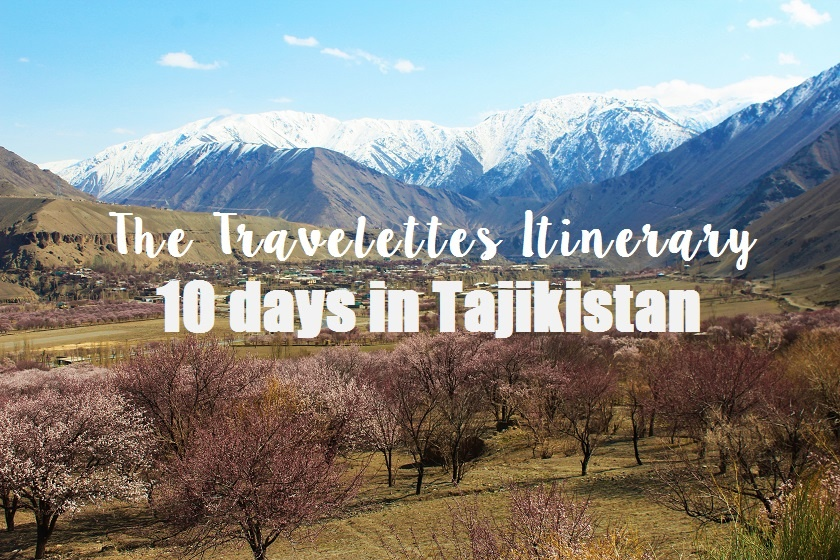 Travelettes Itinerary for Tajikistan