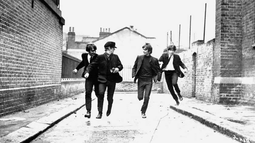 A Hard Day's Night - London Films and Movies