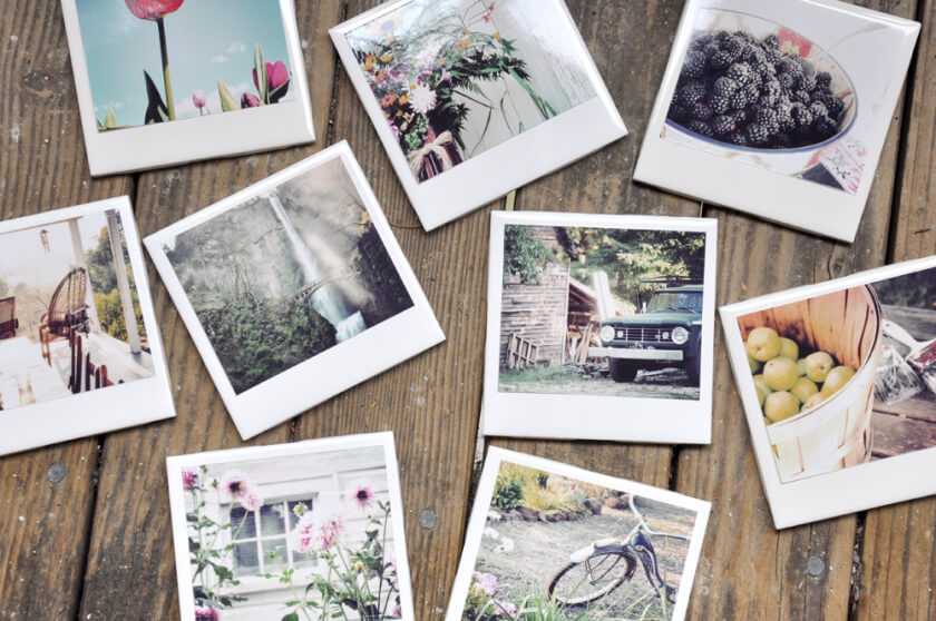 10 awesome ways to turn your photos into christmas gifts - Photo Coasters
