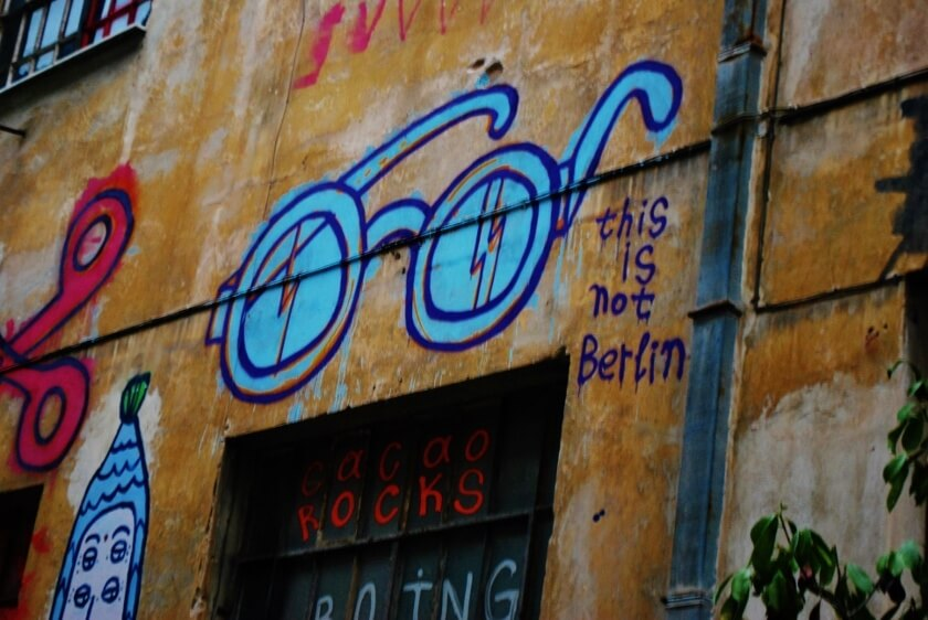 Athens - the New Mecca for Street Art, Travelettes, Nadja Sayej