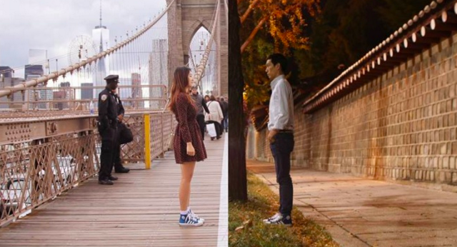 The long distance love art project everyone is talking about