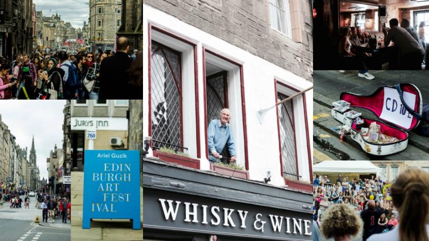 Edinburgh the Ultimate Festival City - August Fringe Festival, Travelettes, Kathi Kamleitner