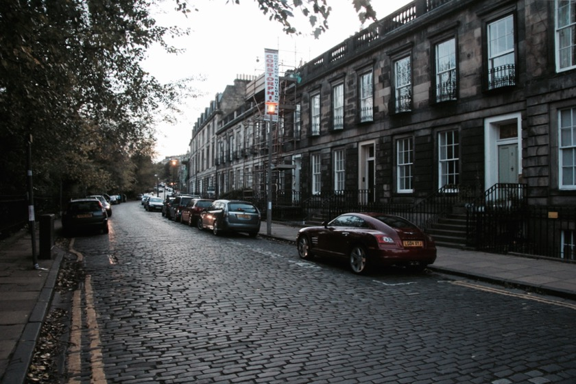 Edinburgh the Ultimate Festival City - New Town Edinburgh, Travelettes, Kathi Kamleitner