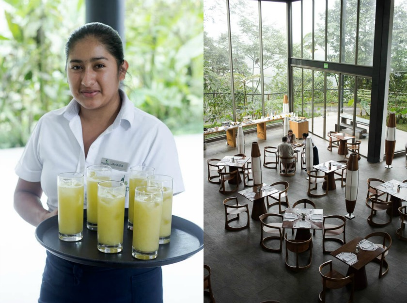 Hotels We Love, Mashpi Lodge Ecuador, Travelettes Kathi Kamleitner - Welcome Drinks