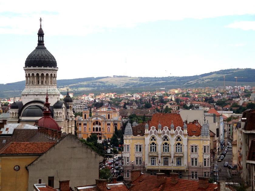 Romania_Cluj_Napoca_city_view