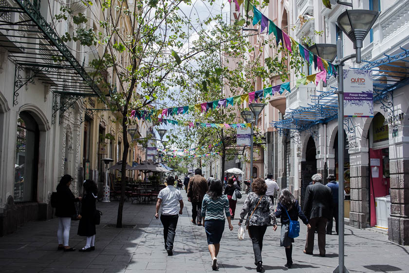 The Travelettes Guide to Quito - Old Town Pedestrian Streets 2