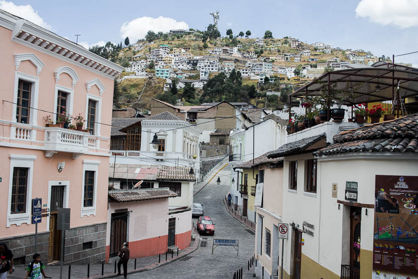 The Travelettes Guide to Quito - Old Town View 3